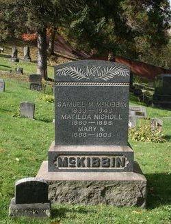 Samuel M McKibbin