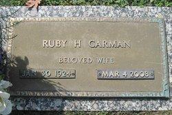 Ruby Hilda <i>Carmicle Carman</i> Richardson