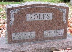 Walter Fred Rolfs