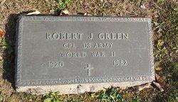 Robert J Green
