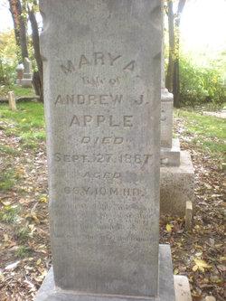 Mary Ann <i>Genoway</i> Apple