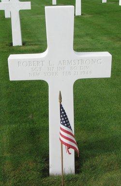 Sgt Robert L Armstrong