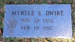 Myrtle Mary <i>Snyder</i> Dwire