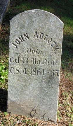 Pvt John W. Adcock