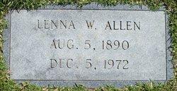 Lenna Ora <i>Willougby</i> Allen