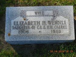Elizabeth Helene <i>Clarke</i> Wernli