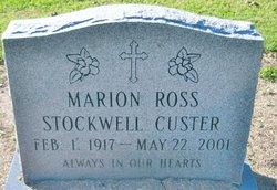 Marion Dean <i>Ross</i> Custer