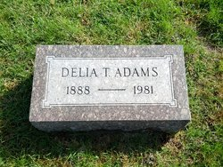 Delia T <i>Wilson</i> Adams