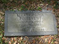 Ella Virginia <i>Poitevent</i> Derr