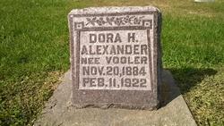 Dora H. <i>Vogler</i> Alexander