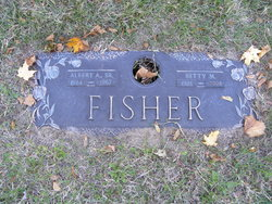Elizabeth May Betty <i>Reid</i> Fisher