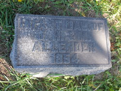 Infant twin female Allender