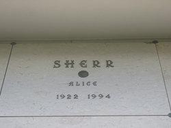 Alice Sherr