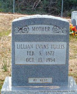 Lillian <i>Evans</i> Tullis