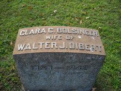 Mrs Clara Ceclie <i>Bolsinger</i> Dibert