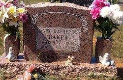 Mary <i>Baxter</i> Baker