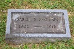 Isabelle <i>Butler</i> Ferguson