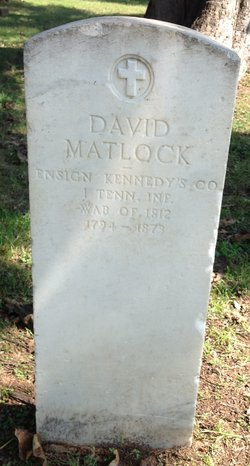 Ens David Matlock
