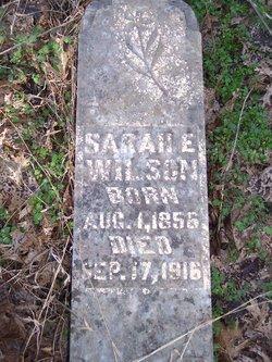 Sarah E <i>Richmond</i> Wilson