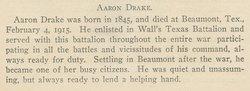 Pvt Aaron Drake
