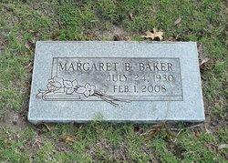 Mrs Margaret B. MAGGIE Baker
