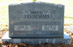 John D. Jack Adams, Sr