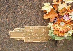 Mildred T <i>Teller</i> Cleveland