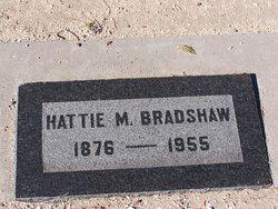 Hattie Mae <i>Marks</i> Bradshaw