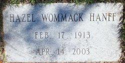 Hazel <i>Wommack</i> Hanff