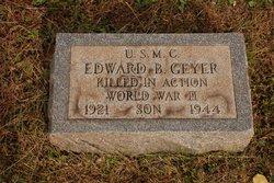 PFC Edward Burton Geyer