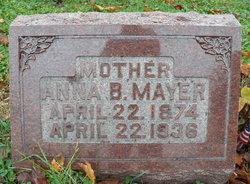 Anna Barbara <i>Schultz</i> Mayer