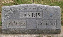 Phyllis A <i>Banks</i> Andis