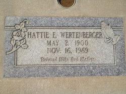 Hattie Elizabeth <i>Gardner</i> Wertenberger
