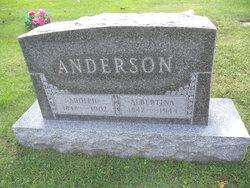 Albertina <i>Holstrom</i> Anderson