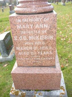 Mary Ann McKibbin
