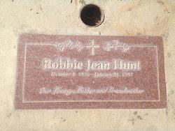 Robbie Jean Hunt