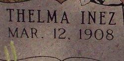 Thelma Inez Aaron