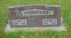 Clara Amanda <i>Estenson</i> Frederickson