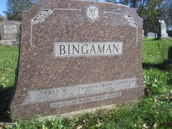 Mary Ida <i>Sherwood</i> Bingaman