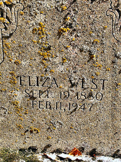 Eliza West