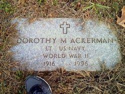 Dorothy M. <i>McManus</i> Ackerman