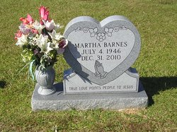 Martha Ann <i>Eaves</i> Barnes