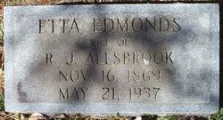 Etta <i>Edmonds</i> Allsbrook