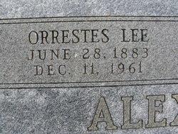 Orrestes Lee O.L. Alexander