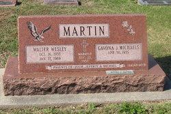 Maj Walter Wesley Martin