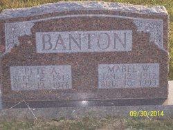 Amos Zelma Pete Banton
