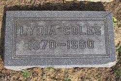 Lydia <i>Gillham</i> Coles
