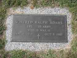 Winfred Ralph Adams