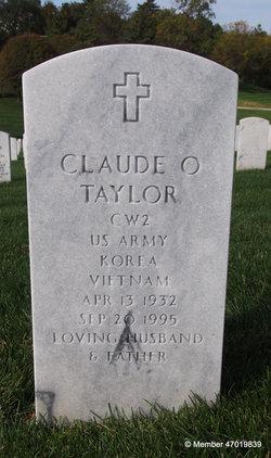 Claude O Taylor