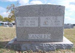 Elizabeth <i>Loyd</i> Cansler